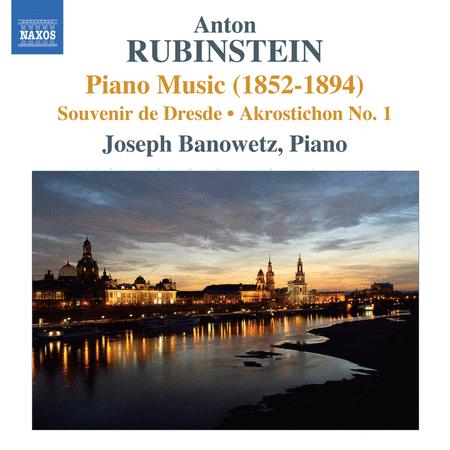 Piano Music (1852-1894) Souve