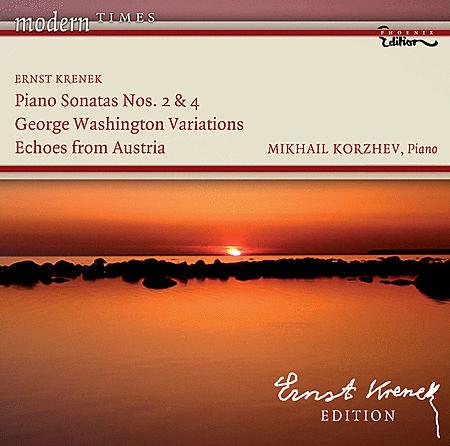 Piano Sonatas Nos 2 & 4 Georg