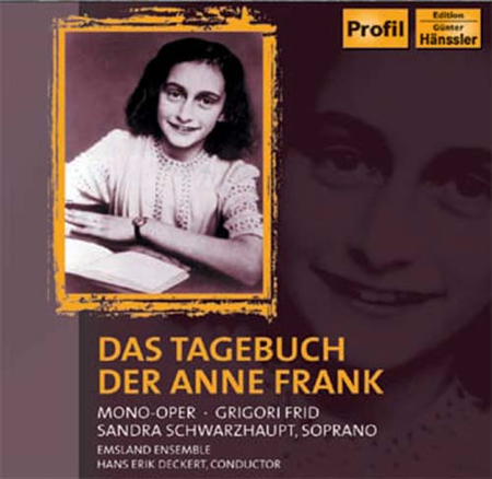 The diary of anne frank sheet music by sandra schwarzhaupt for Anne frank musical