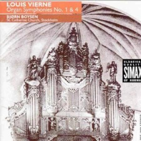 Organ Symphonies Nos. 1 and 4