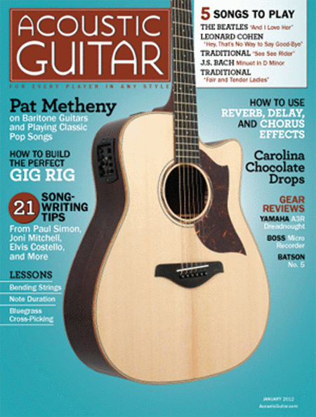 Acoustic Guitar Magazine - January 2012