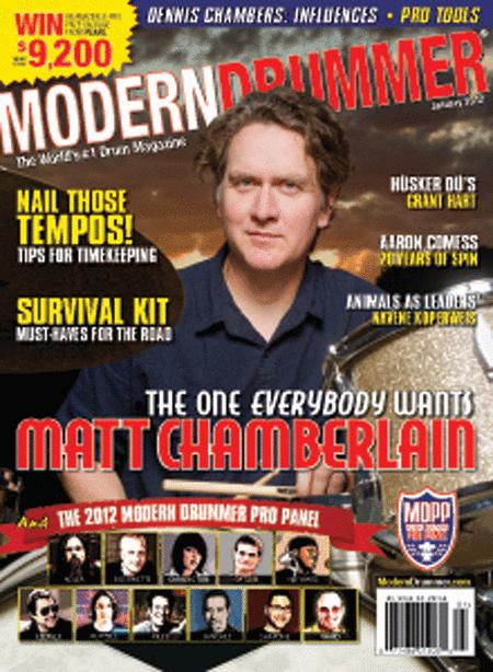 Modern Drummer Magazine - January 2012