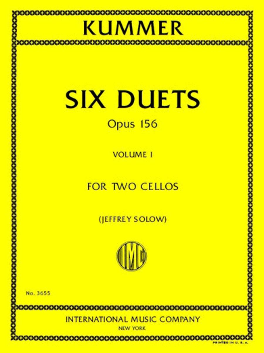 Six Duets, Opus 156 - Volume I