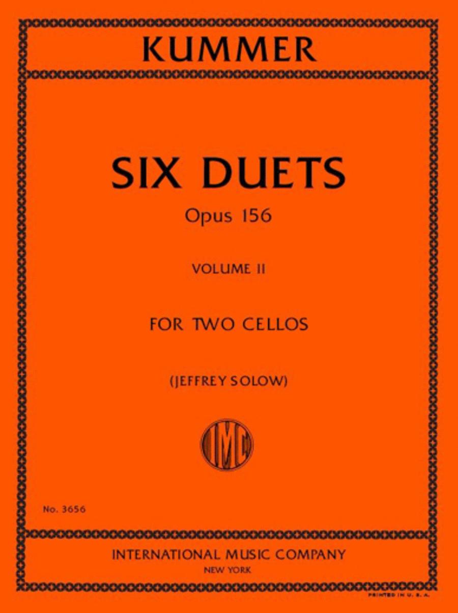 Six Duets, Opus 156 - Volume II