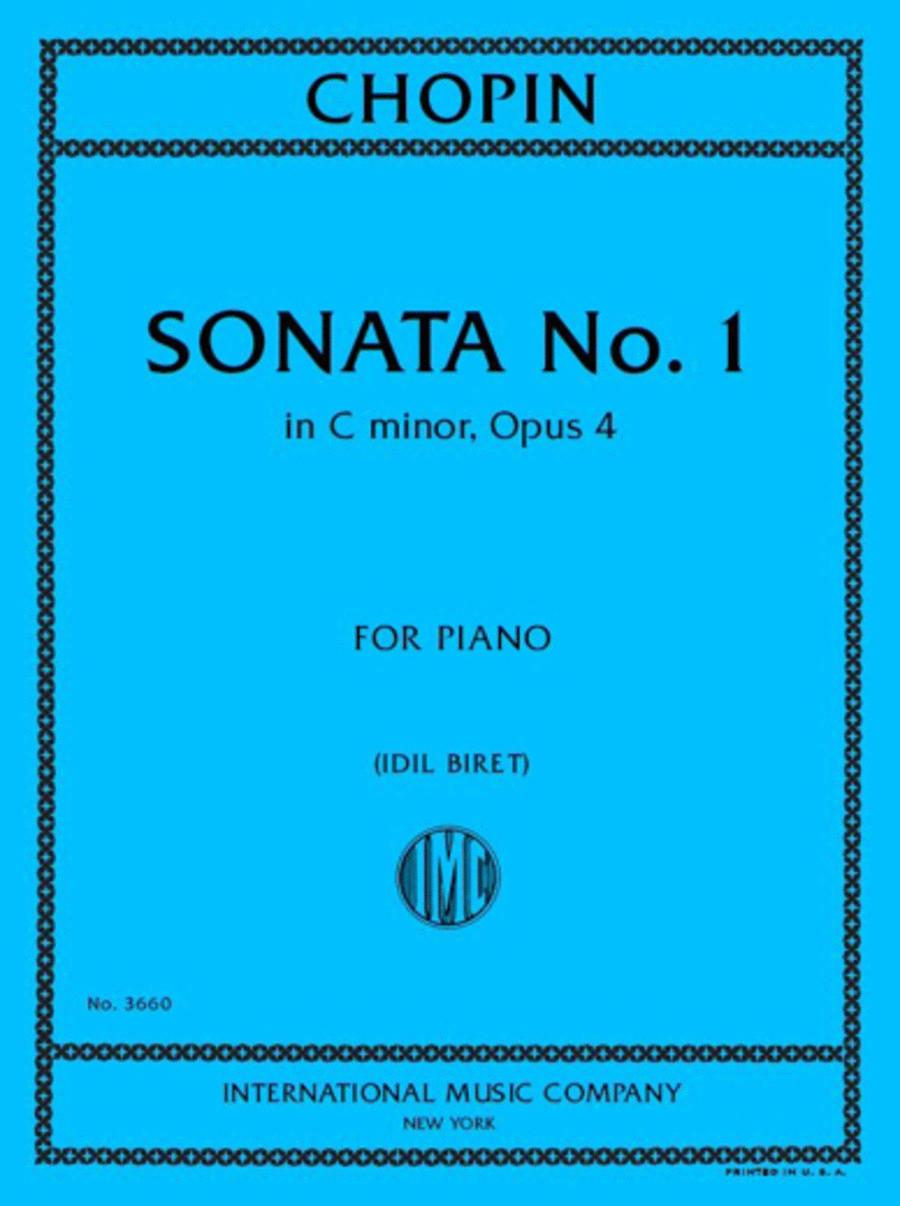 Sonata in C minor, Opus 4