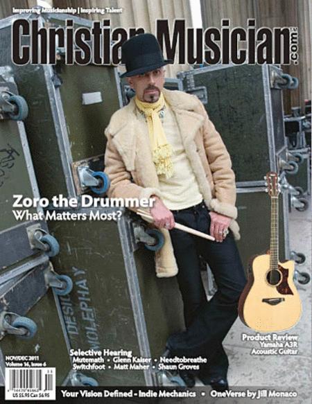 Christian Musician Magazine - Nov/Dec 2011