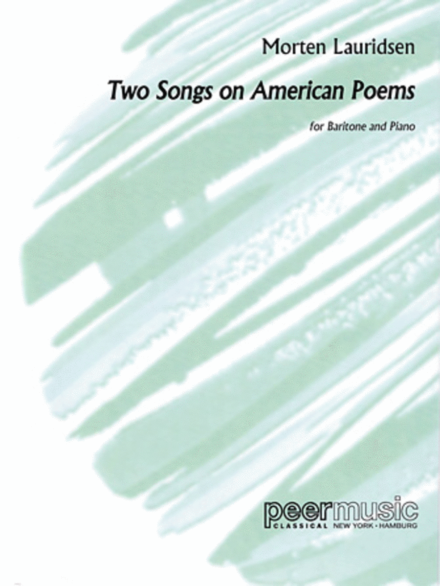 2 Songs on American Poems