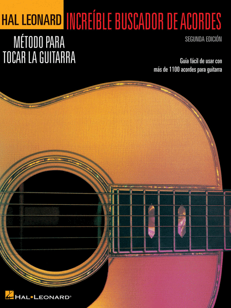 Incredible Chord Finder - Spanish Edition, 2nd Edition