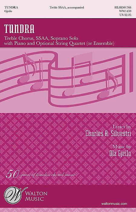Tundra (Full Score and String Quartet Parts)