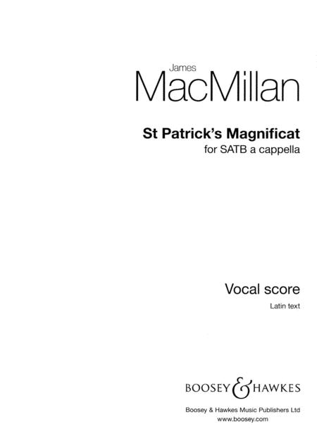 St. Patrick's Magnificat