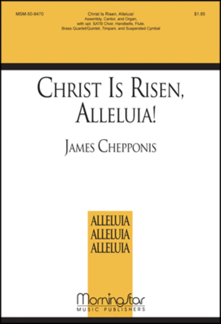 Christ Is Risen, Alleluia (Choral Score)