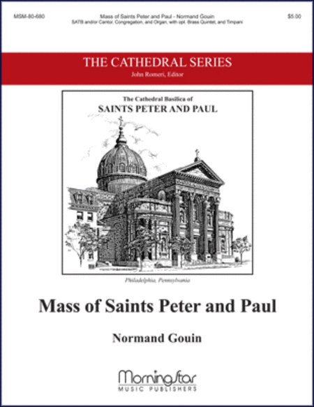 Mass of Saints Peter and Paul (Choral/Keyboard Score)