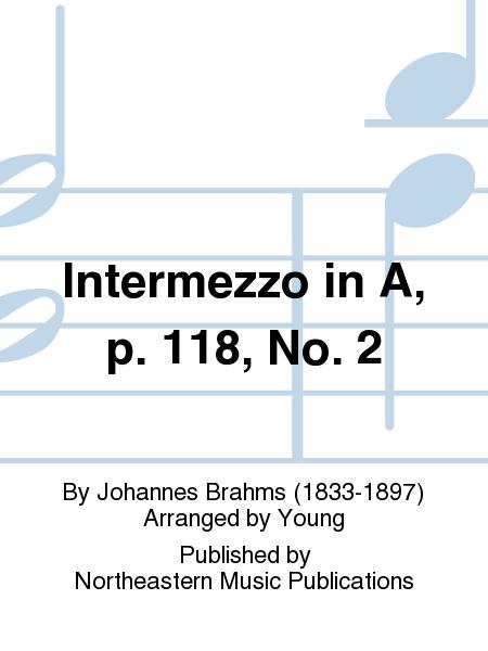 Intermezzo in A, p. 118, No. 2