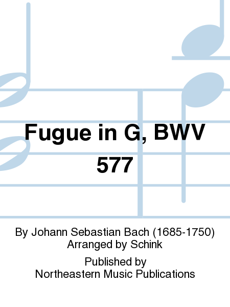 Fugue in G, BWV 577