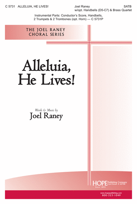 Alleluia, He Lives! (choral octavo)