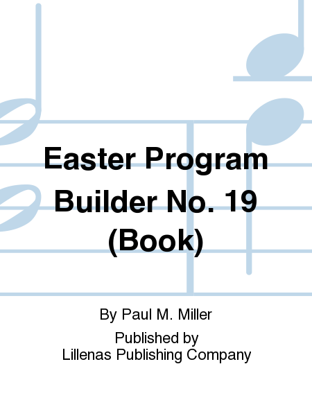 Easter Program Builder No. 19 (Book)