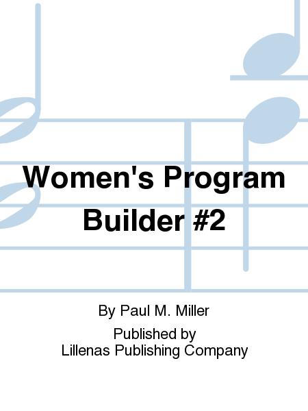 Women's Program Builder #2