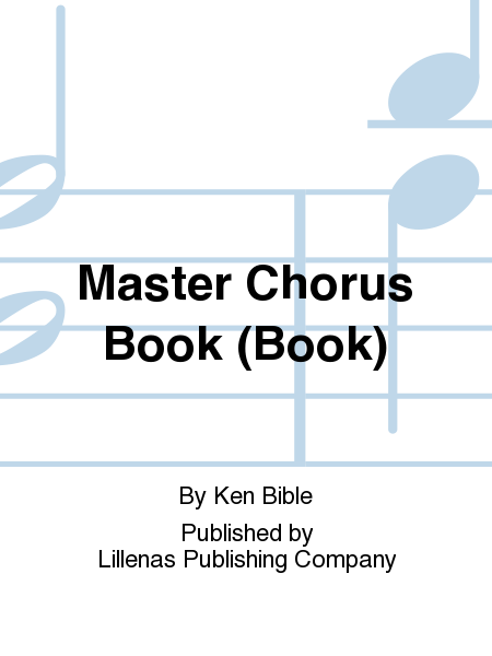Master Chorus Book (Book)