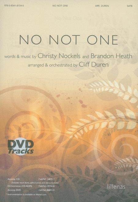 No Not One (Anthem)