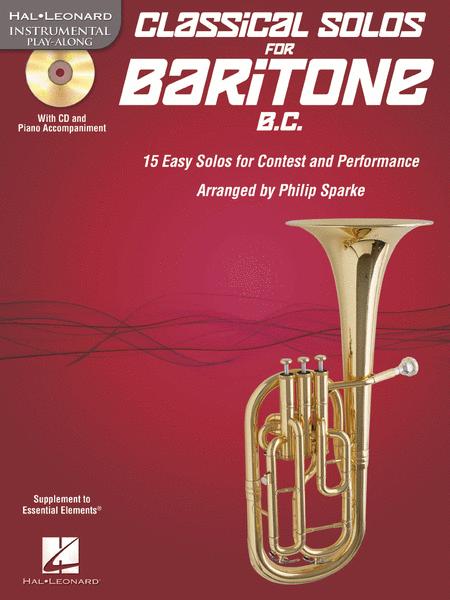 Classical Solos for Baritone B.C.