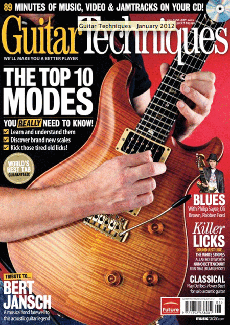 Guitar Techniques Magazine - January 2012 Issue