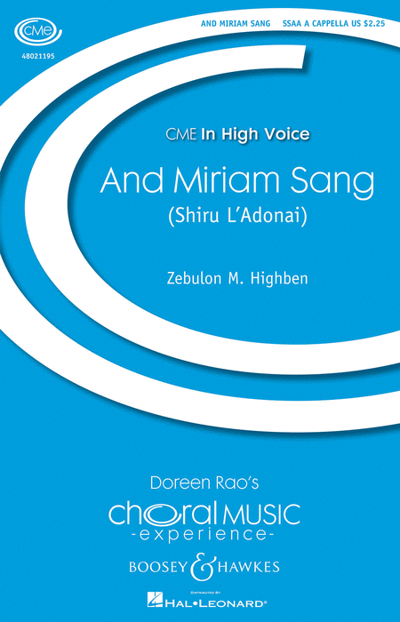 And Miriam Sang (Shiru L'Adonai)