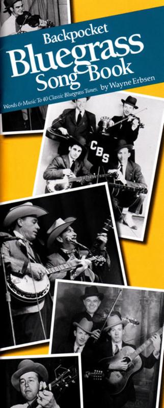 Backpocket Bluegrass Song Book