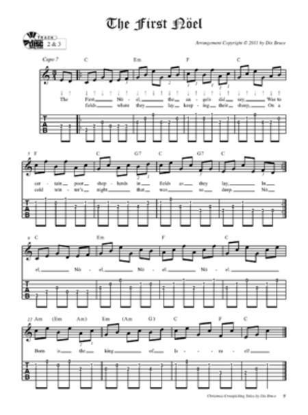 Christmas Crosspicking Solos for Guitar