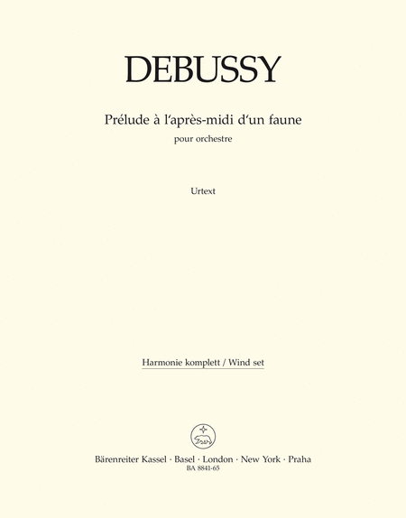 Prelude a lapres-midi dun faune for Orchestra