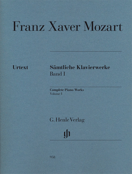 Complete Piano Works, Vol. I