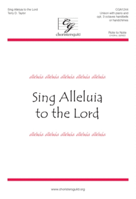 Sing Alleluia to the Lord