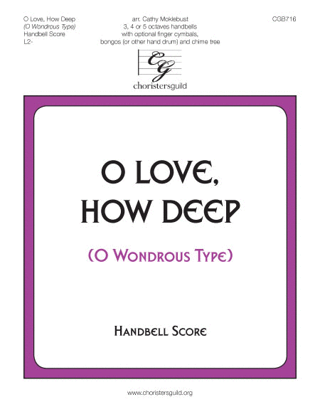 O Love, How Deep - Handbell Score