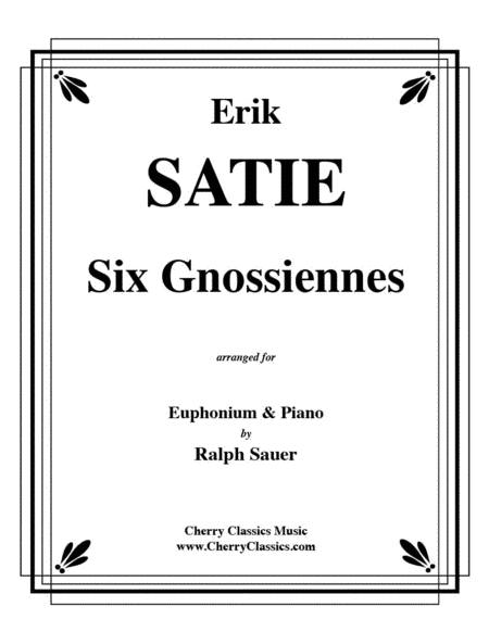 Six Gnossiennes for Euphonium & Piano