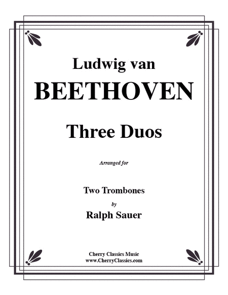 Three Duos for Two Trombones