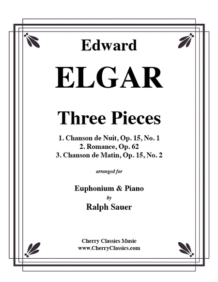 Three Pieces for Euphonium & Piano