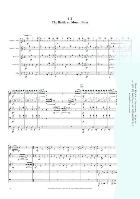 Brass Quintet No. 1 - Stories of a Legend