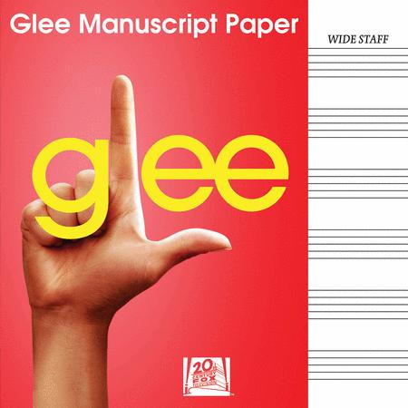 Glee Manuscript Paper