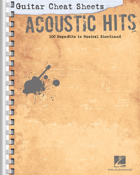 Guitar Cheat Sheets: Acoustic Hits