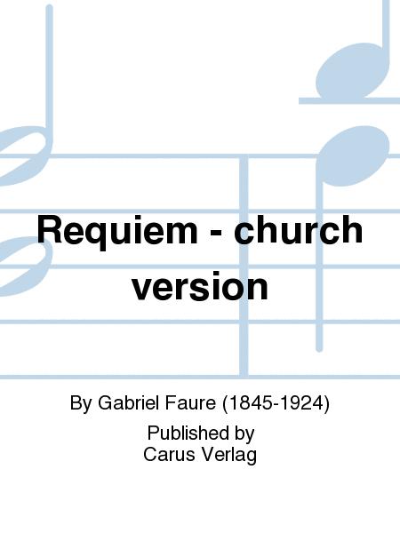 Requiem - church version