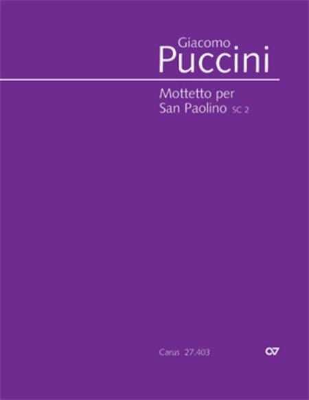 Mottetto per San Paolino
