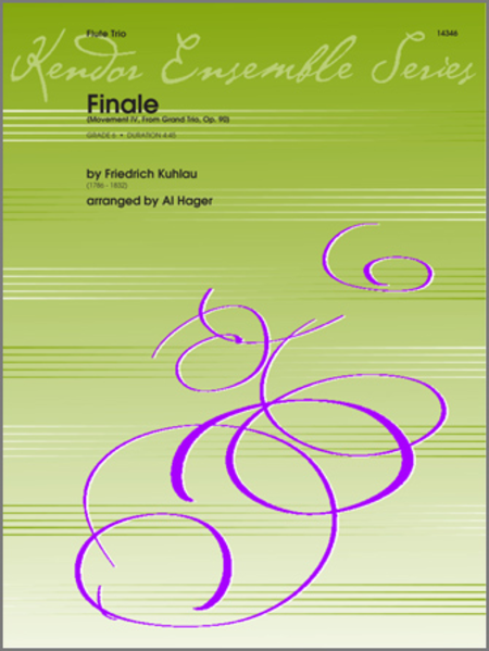 Finale (Movement IV, From Grand Trio, Op. 90)