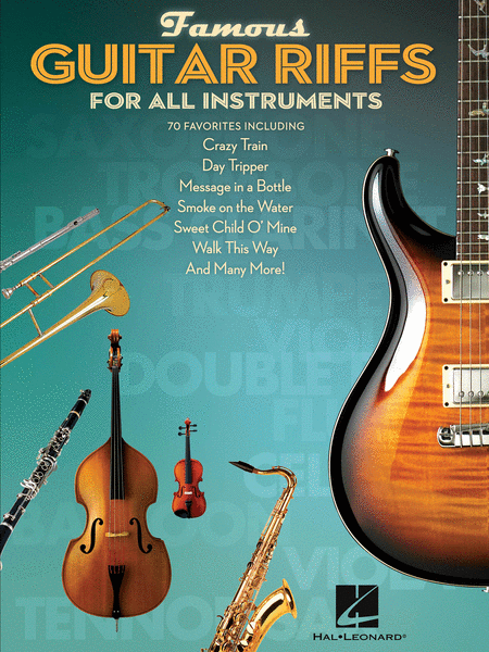 Famous Guitar Riffs for All Instruments