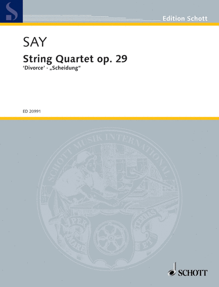 String Quartet, Op. 29 Divorce