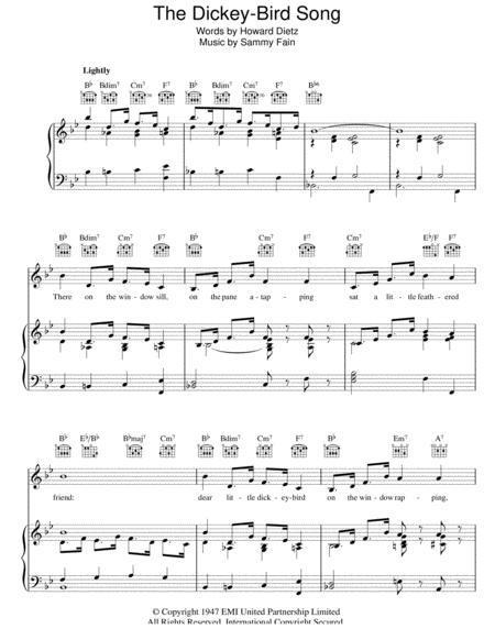 The Dickey-Bird Song