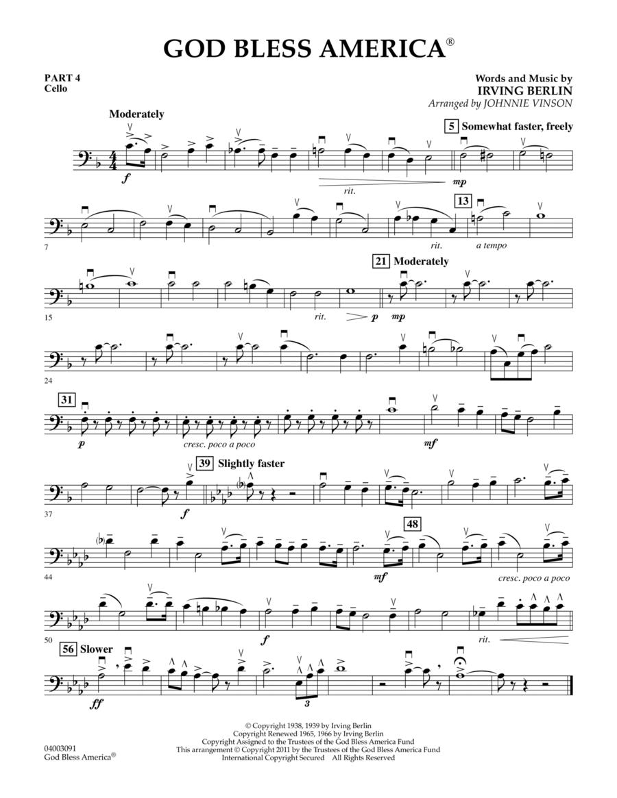 God Bless America - Pt.4 - Cello