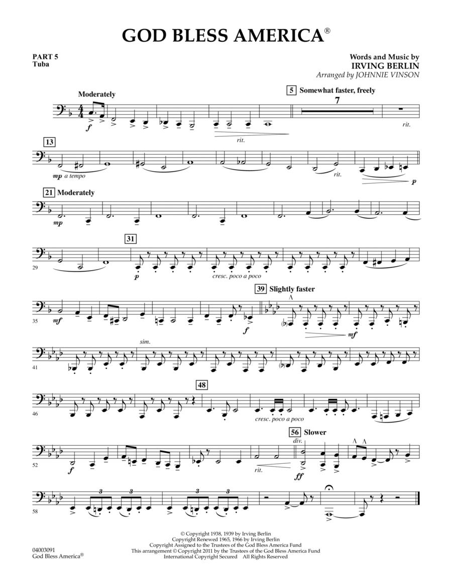 God Bless America - Pt.5 - Tuba