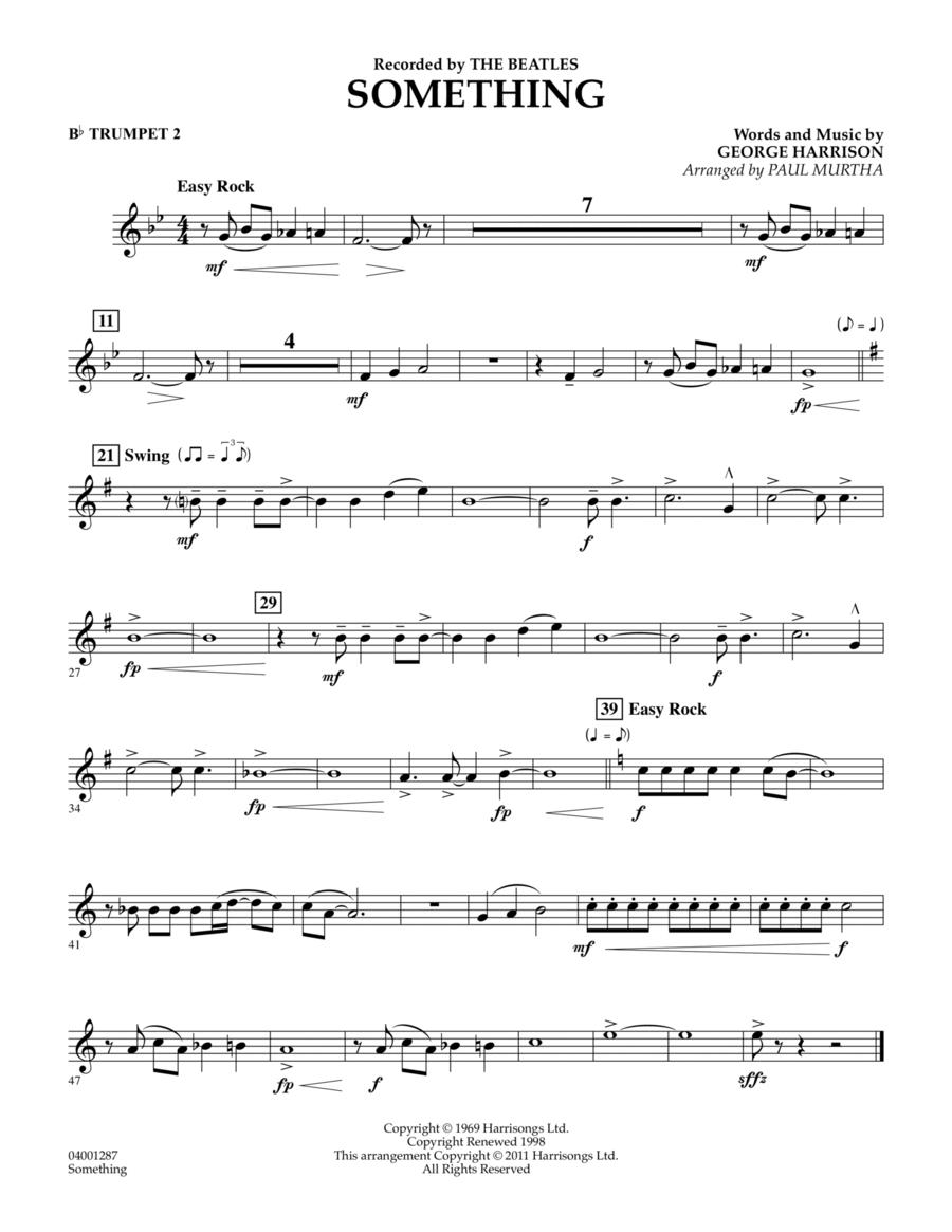 Something - Bb Trumpet 2
