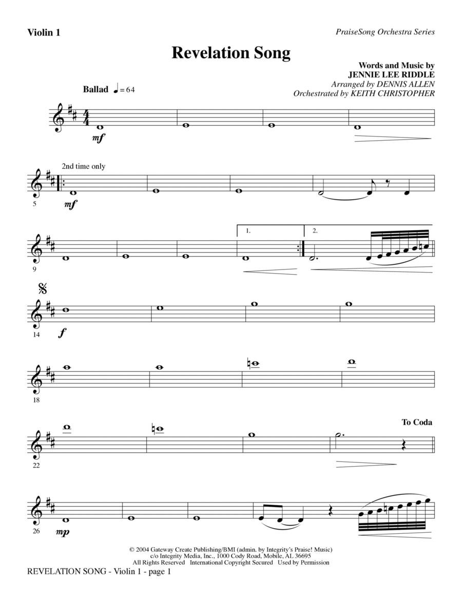 Revelation Song - Viola