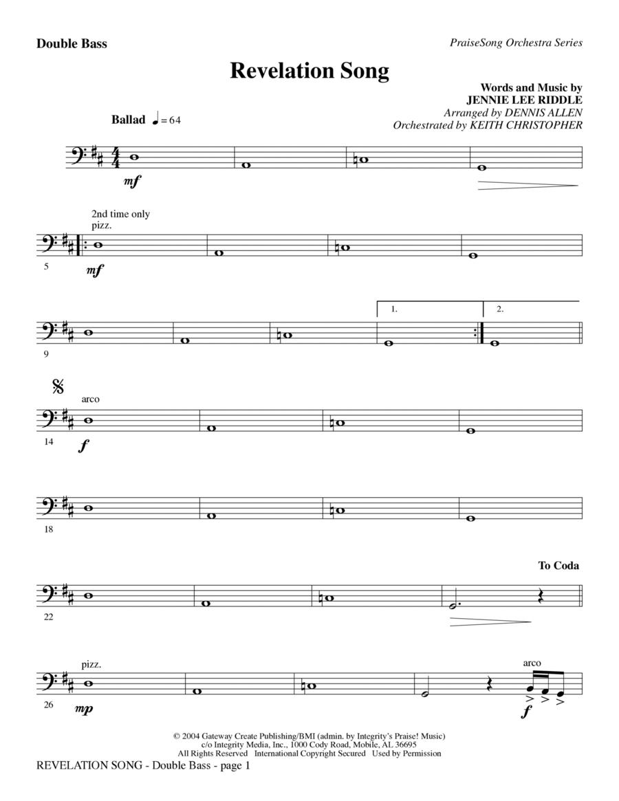 Revelation Song - Tenor Sax (sub Tbn 2)