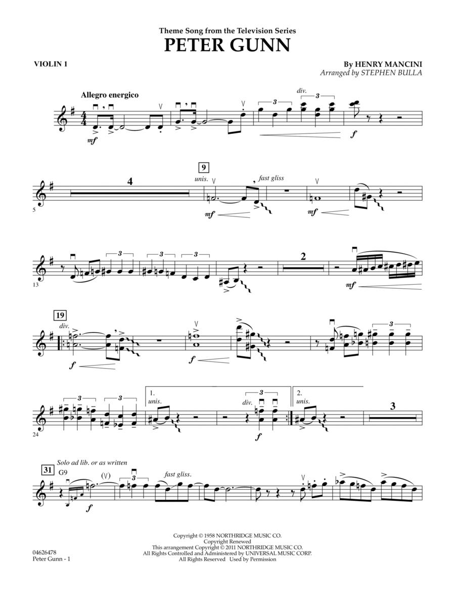 Peter Gunn - Violin 1